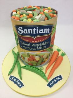 Santiam Retirement Cake