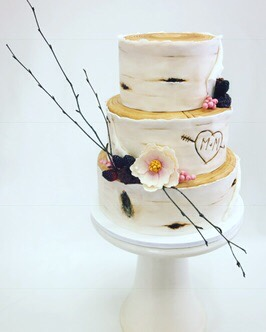 Birchwood Wedding Cake