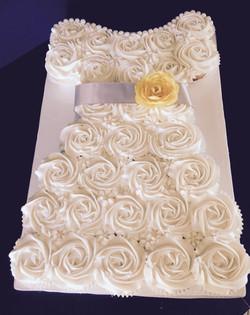 Cupcake Bridal Shower Cake