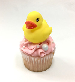 Duckie Baby Shower Cupcakes