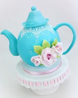 Teapot Birthday Cake