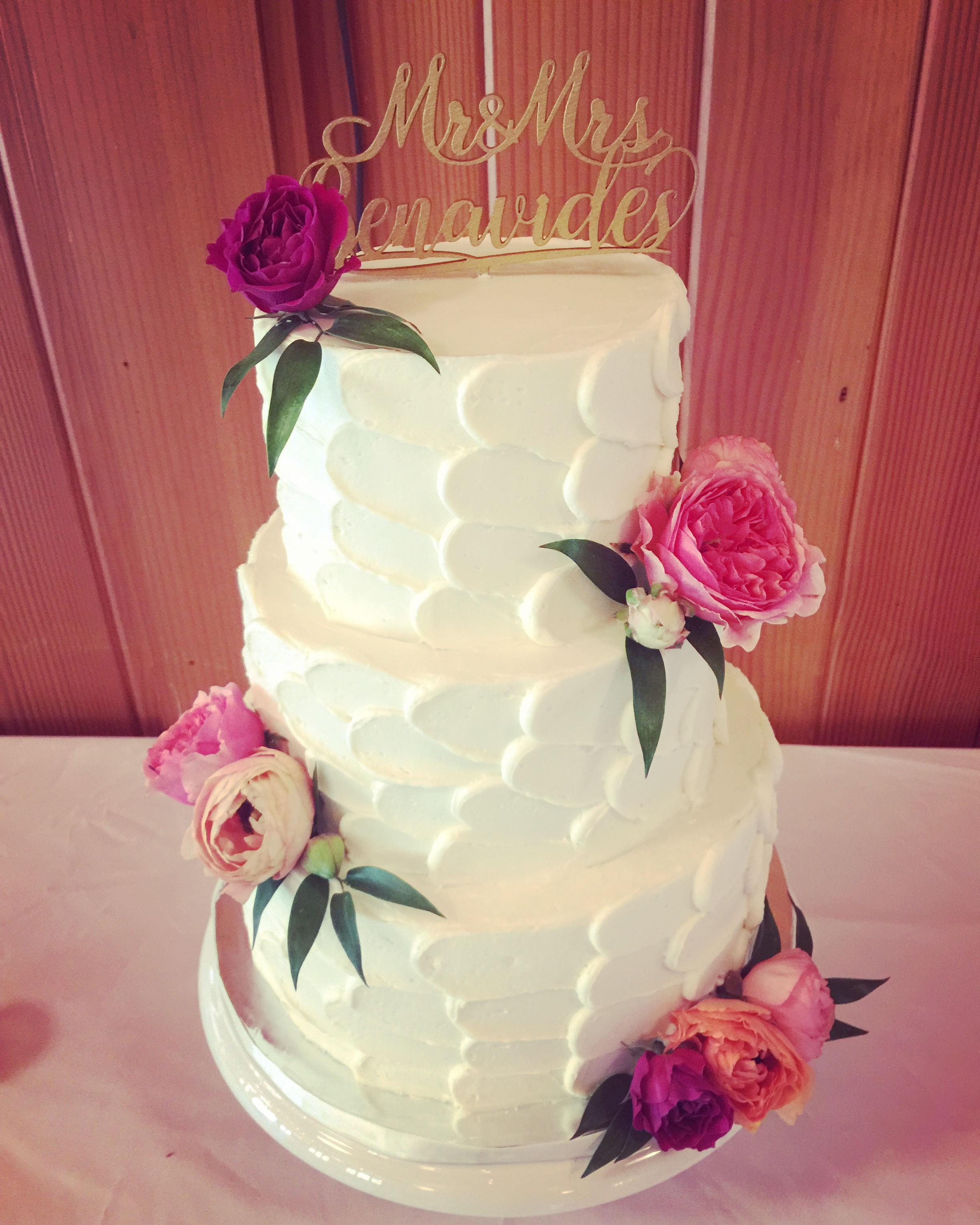 Rustic Buttercream Design