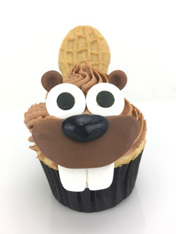 OSU Beavers Cupcake