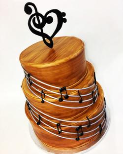 Bass Cello Music Cake