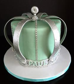 Prince Baby Shower Cake