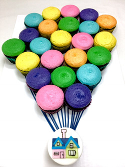 Up Cupcake Cake