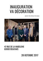 Inauguration magasin VA Décoration Beauvais