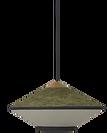 VA Décoration - Suspension Forestier vert gris