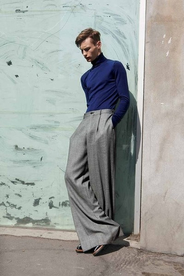 Ageless, Classic, Mens Oxford Bag Trouser. Just Things of Beautys