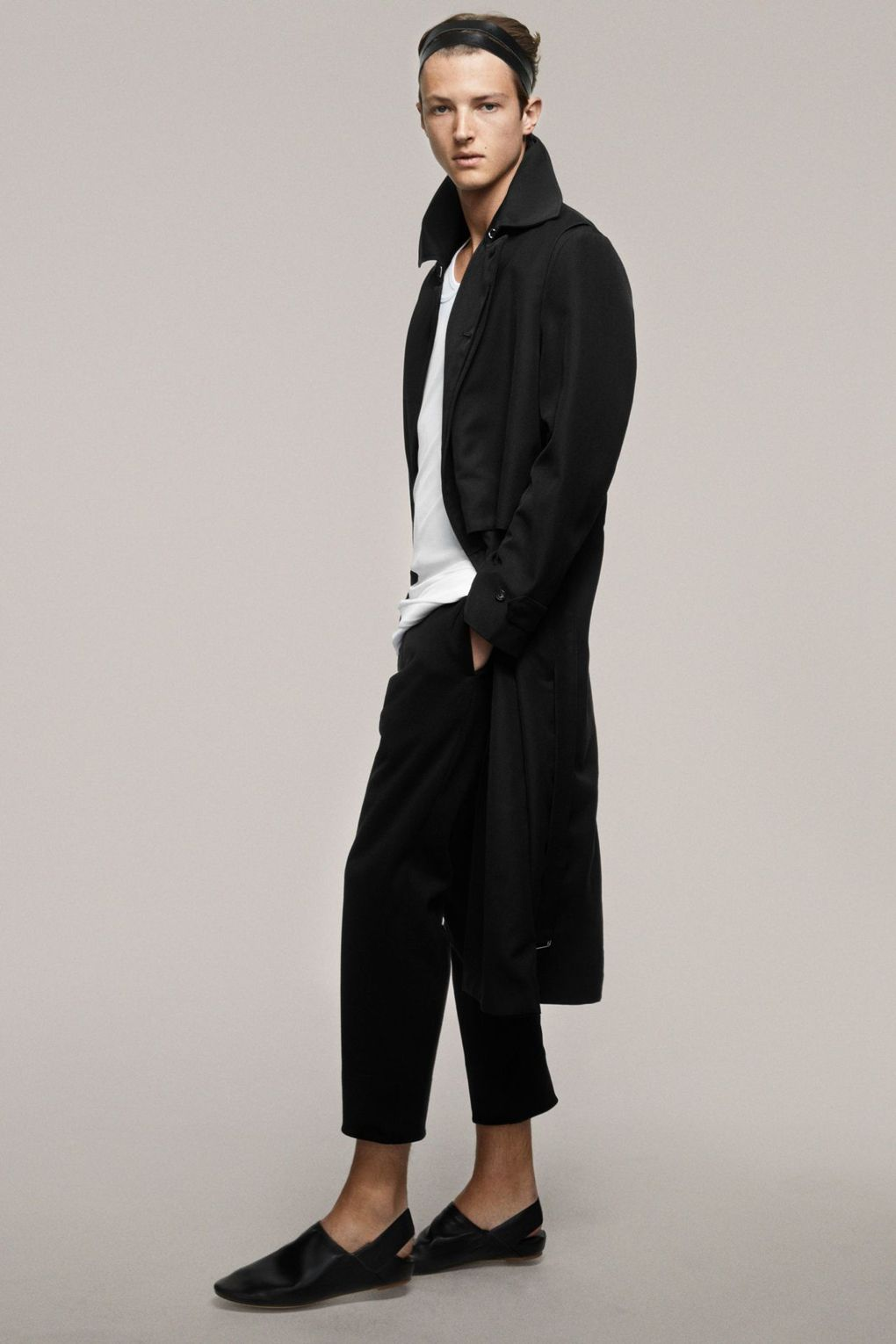 Just Things of Beauty Black Cropped Suiting Pants SS17.jfif