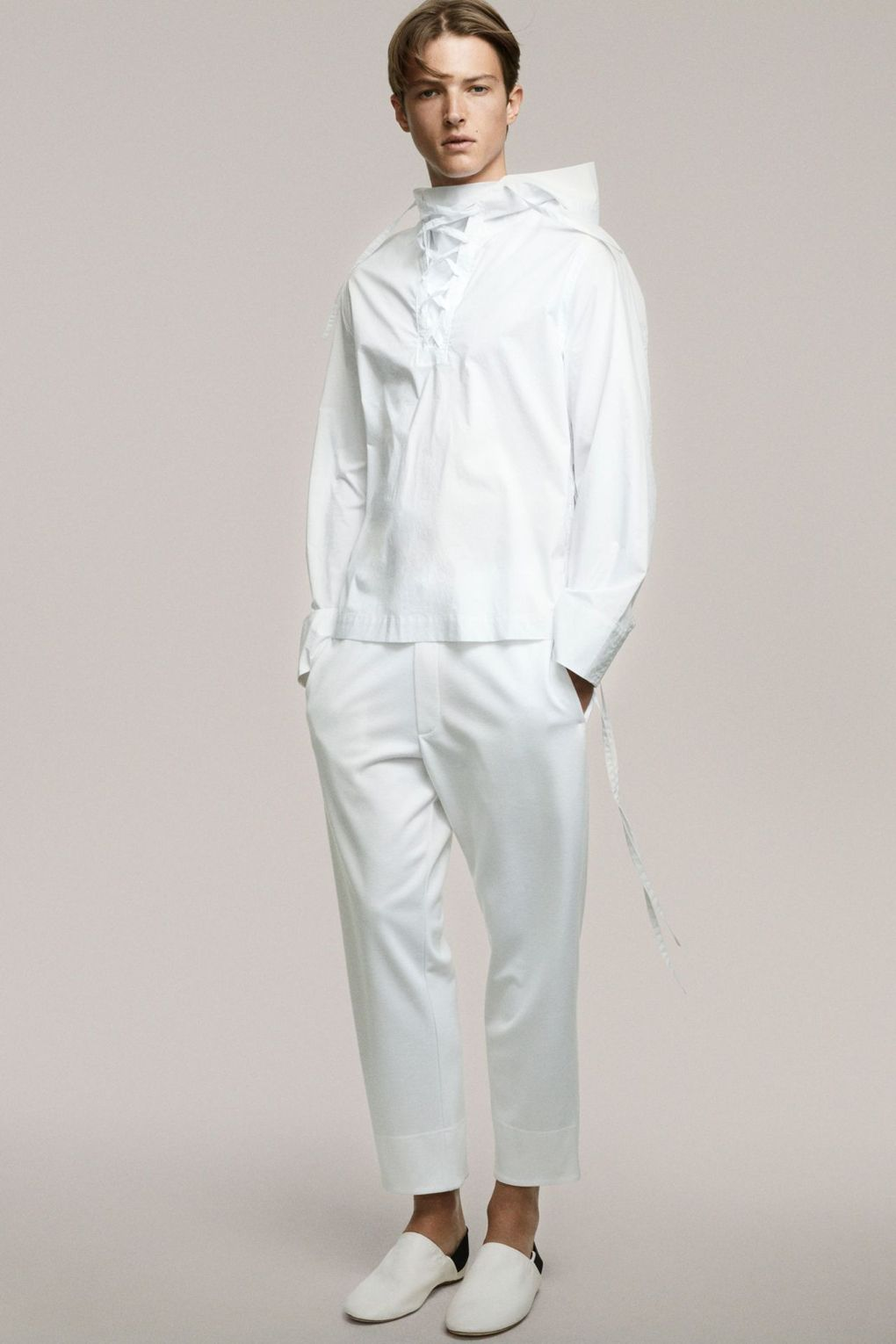 Just Things of Beauty. Athleisure White Suit SS17
