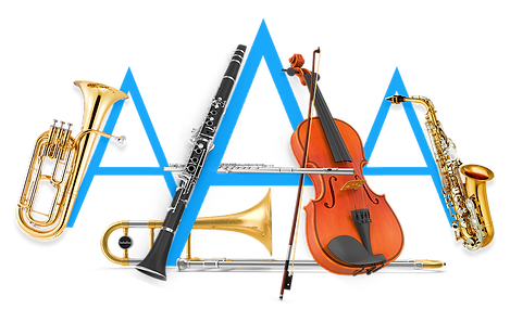 AAA Band Rentals - LOGO ICON - BLUE - Ma