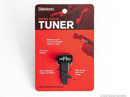 D'Addario Violin Tuner