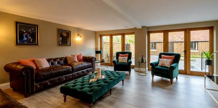 Kingshay Barton, Somerset, UK.  Lounge