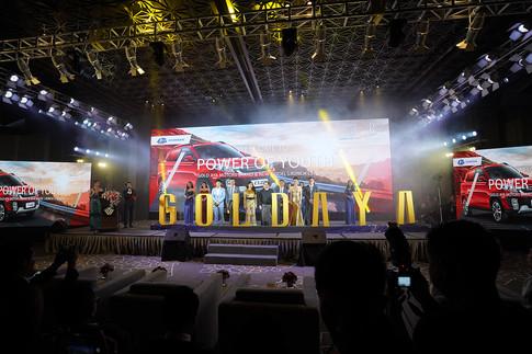 Gold Aya - Q35 car launch in Myanmar