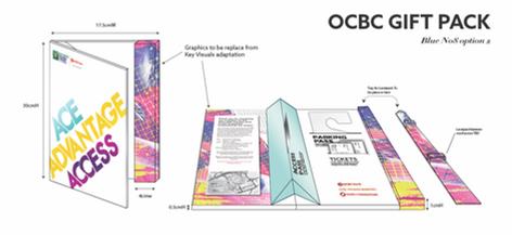OCBC Ace Advantage Access gift pack