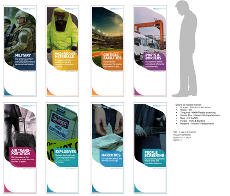Smith Detection's Pull up banners