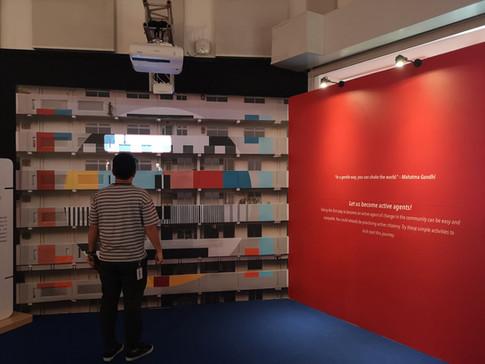 Interactive exhibit
