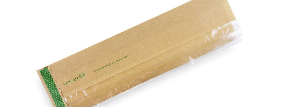 100x50x355mm lebomló papír baguette zacskó 16Ft/db