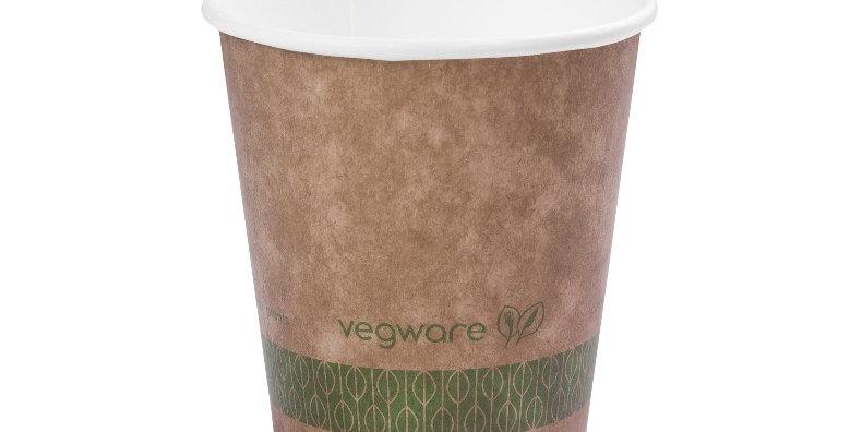 2,9dl-es barna komposztálható kávéspohár 31,7Ft/db