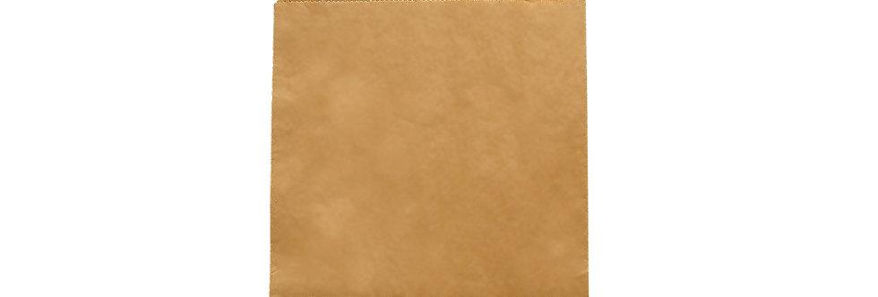 17,7x17,7 cm-es újrahasznosított barna zacskó 3 Ft/db