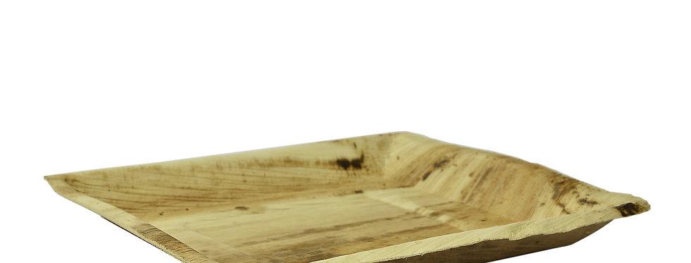 25,4cm-es négyszögletes pálmalevél tál 148Ft/db