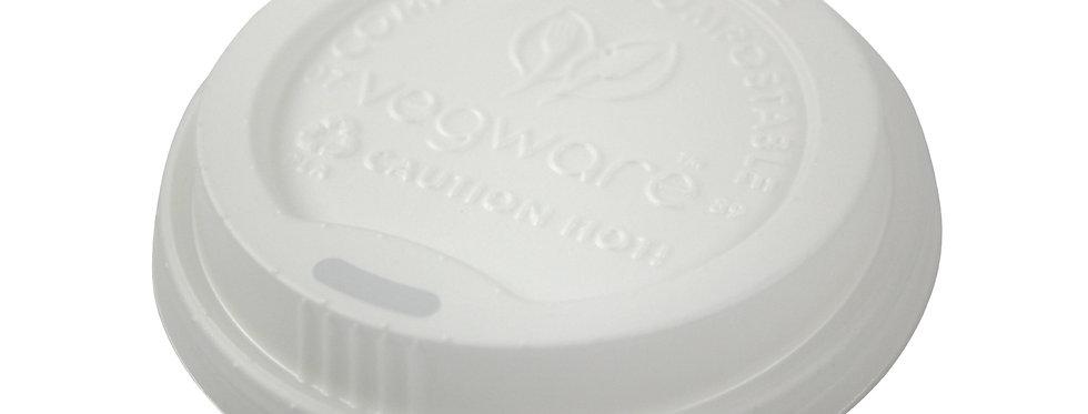 89mm-es komposztálható CPLA anyagú kávés pohártető 22,5 Ft/db