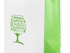 közepes újrahasznosíott papírtáska - Green Tree 48 Ft/db