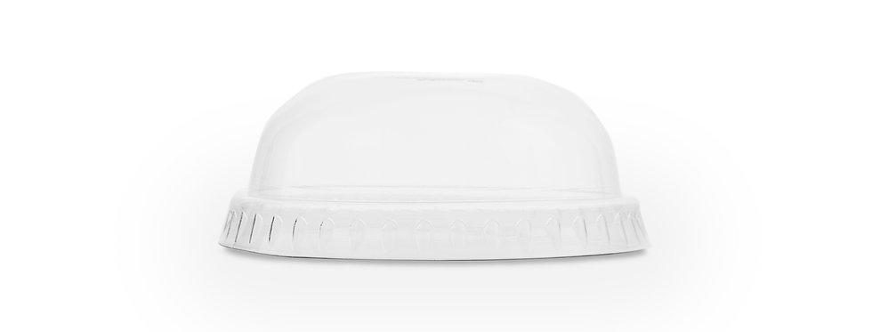 Kicsi PLA dóm tető szívószál nyílással 1,4-2,5dl-es pohárhoz 15,6 Ft/db