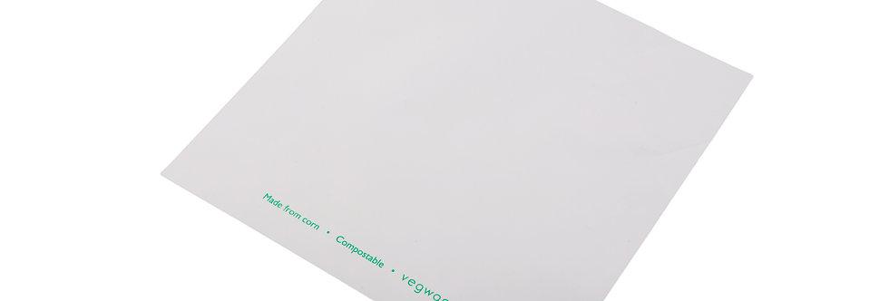 190x190 mm-es átlátszó/fehér zacskó 25,3 Ft/db