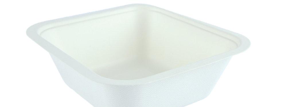 V4 1000 ml-es lebomló Gourmet doboz alj cukornádból 47 Ft/db