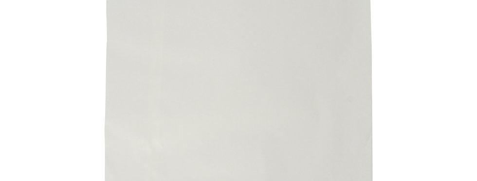 25,4x25,4 cm-es újrahasznosított fehér papírzacskó 6,8 Ft/db