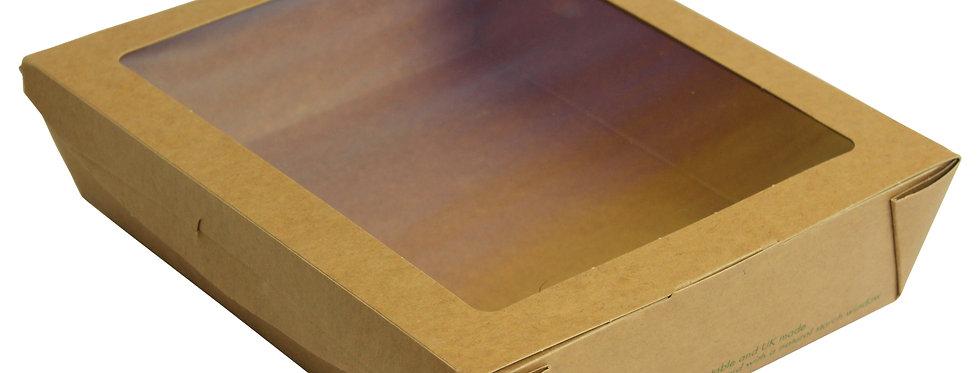 1100 ml-es PLA ablakos salátás doboz 124 Ft/db