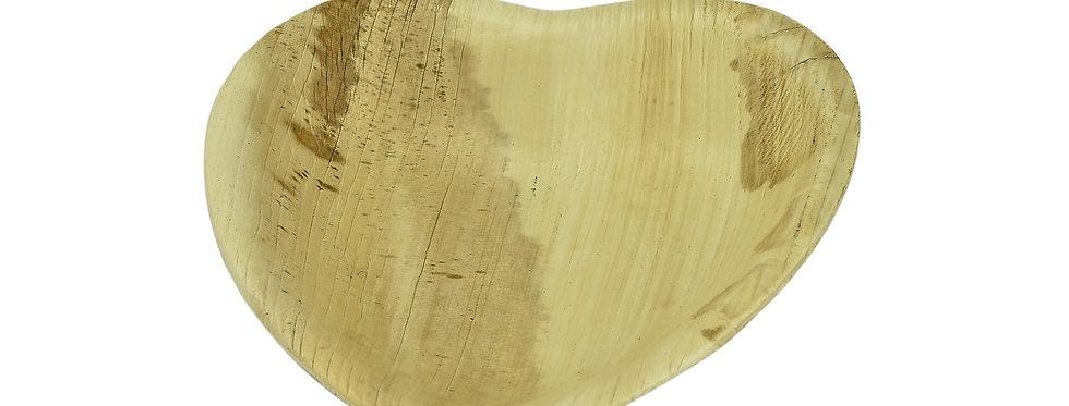 15cm-es szív alakú pálmatál 135Ft/db