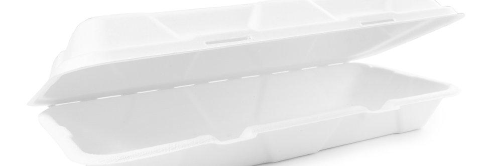 30,5x15 cm-es komposztálható cukornád elviteles doboz 68 Ft/db