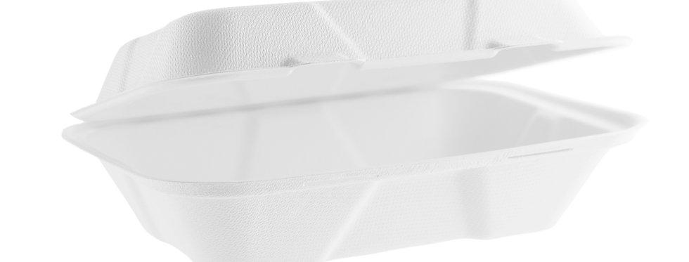 23x15 cm-es erős falú komposztálható cukornád elviteles doboz 78 Ft/db