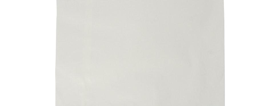 31x31 cm-es újrahasznosított fehér zacskó 10,9 Ft/db