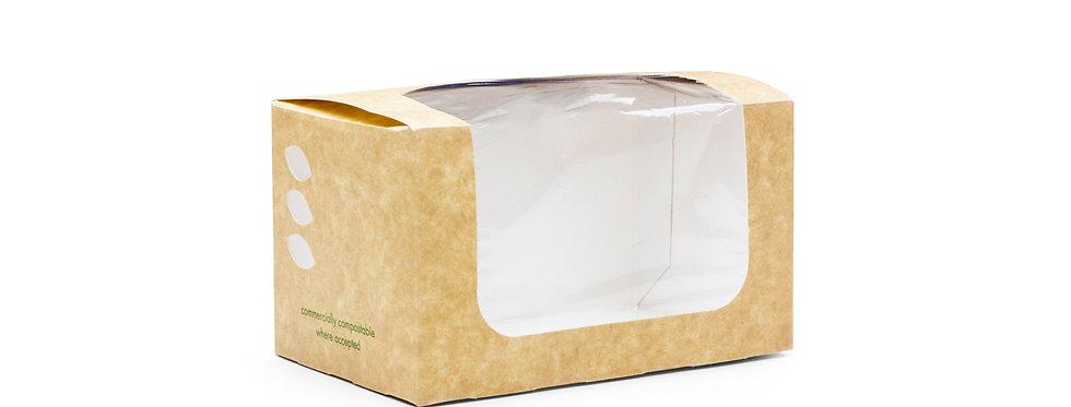 Környezetbarát ablakos szendvicsdoboz 52,8 Ft/db