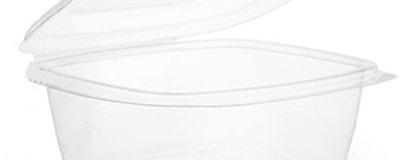 6,8 dl-es lebomló szögletes PLA doboz egybetetővel 101 Ft/db