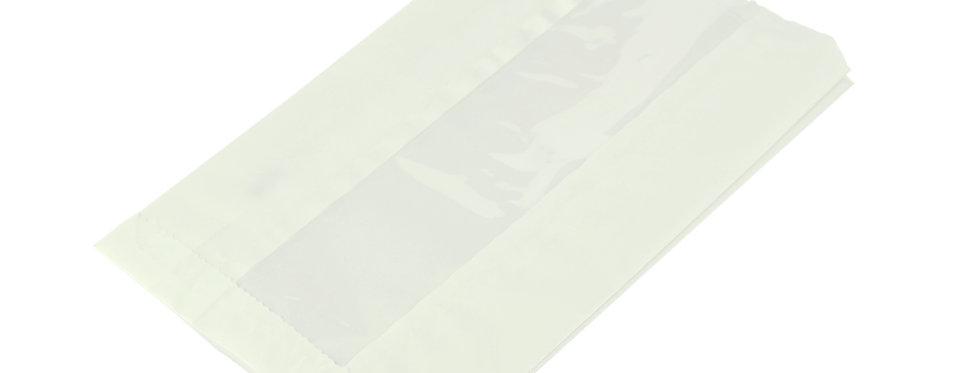 15x21,5x25,4 cm-es hőálló, ablakos zacskó 22,5 Ft/db