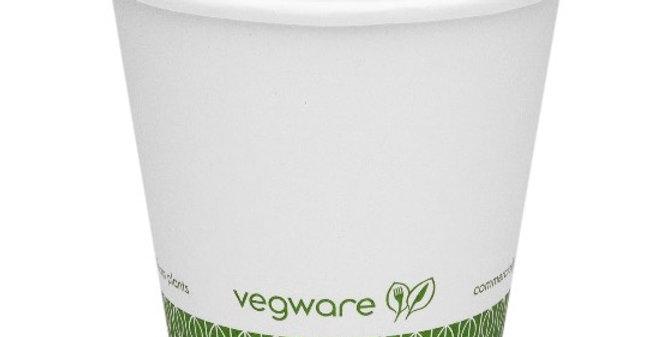 1,7dl-es komposztálható fehér kávés pohár 22,5Ft/db