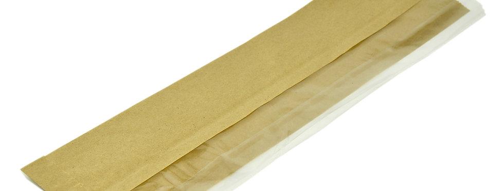 10x15x35,5cm komposztálható lebomló papír baguette zacskó 15,5 Ft/db