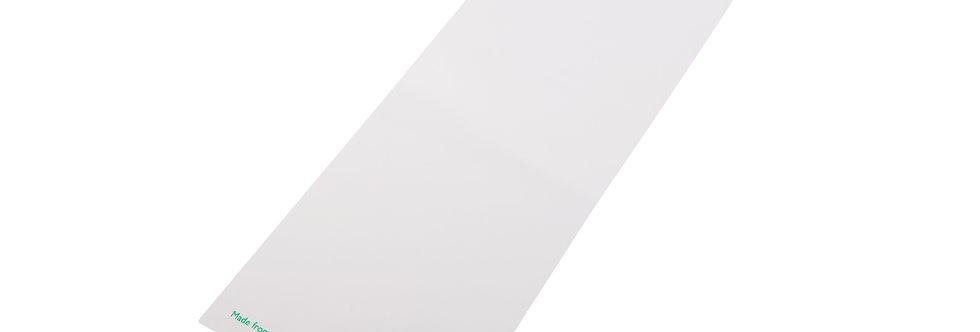 120x350 mm-es átlátszó/fehér zacskó 24,9 Ft/db