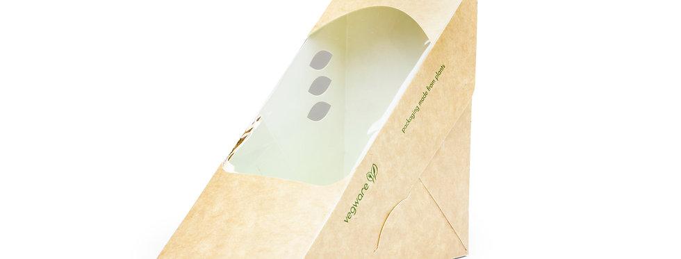 75 mm-es háromszög alakú szendvics doboz 57,6 Ft/db