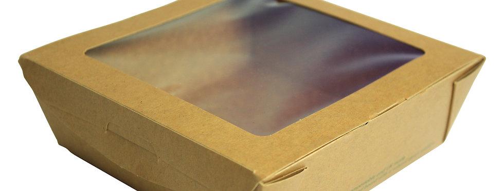650ml-es PLA ablakos salátás doboz 113 Ft/db