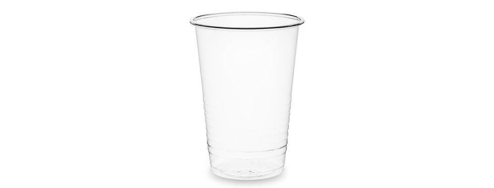 2 dl-es extra vékony falú lebomló PLA pohár 15,4 Ft/db