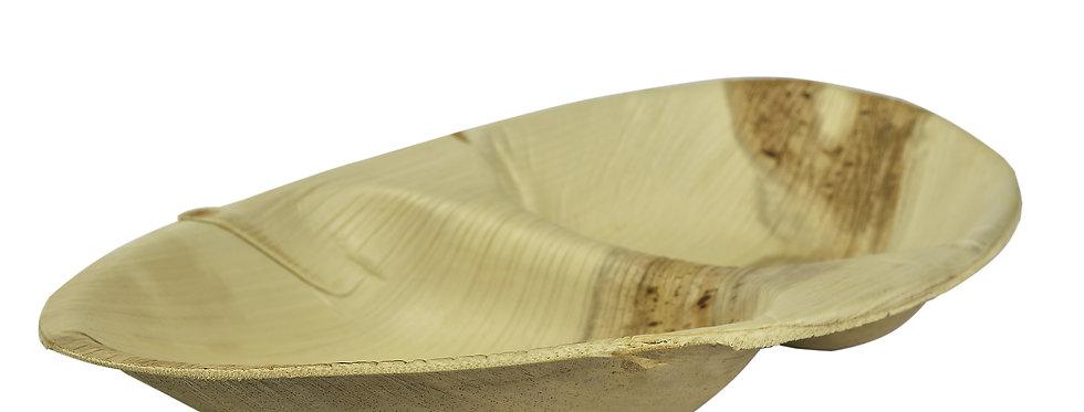 25cm-es ovális pálmalevél tál (osztott) 169Ft/db