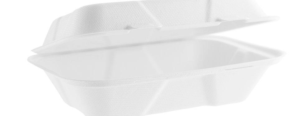 23x15 cm-es komposztálható cukornád elviteles doboz 58 Ft/db