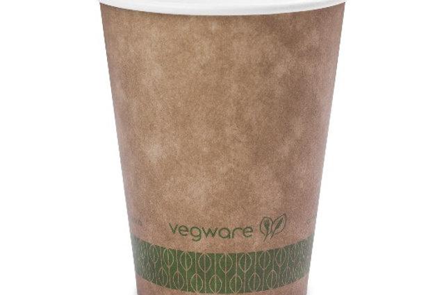 2,3dl-es komposztálható barna cappuccinos pohár 26 Ft/db