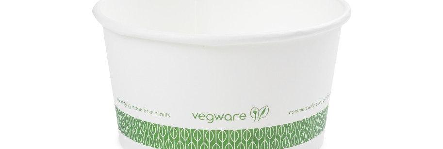 3,6 dl-es komposztálható leveses tál 44,5Ft/db